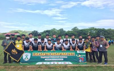 Tim Sepak Bola Pesantren Modern Darul Falah Enrekang Menyabet Juara 1 Liga Santri Nasional Regional Sul-Sel di Wajo
