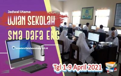 UJIAN SEKOLAH SMAS DARUL FALAH ENREKANG TAHUN 2021