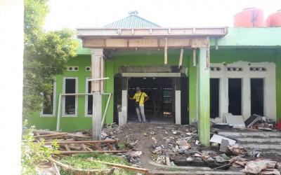 UPDATE : Foto Perkembangan Renovasi Masjid Ta'mirul Darul Falah